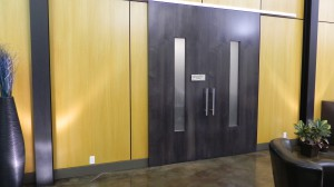 Chairman Room Doors